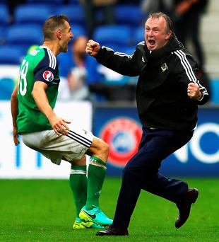Northern Ireland has made it through to the knock out stage of Euro 2016