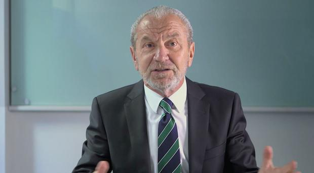 Lord Sugar has drawn criticism