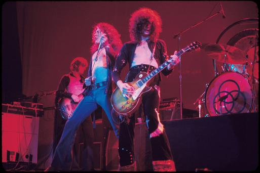 Led Zeppelin in their '70s heyday