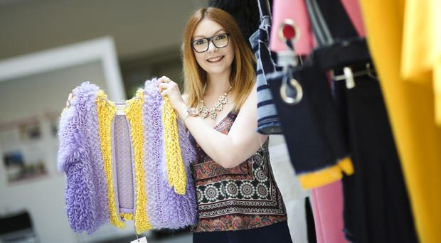 Ulster University student Jordan Currie has been approached to display her knitwear collection in Vancouver