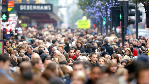 The population of Northern Ireland had increased to 1,851,600 by the middle of 2015, new figures have revealed