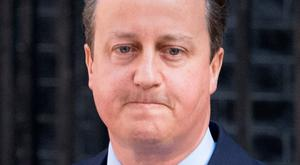 Exiting: David Cameron yesterday. Photo by Matt Cardy/Getty Images