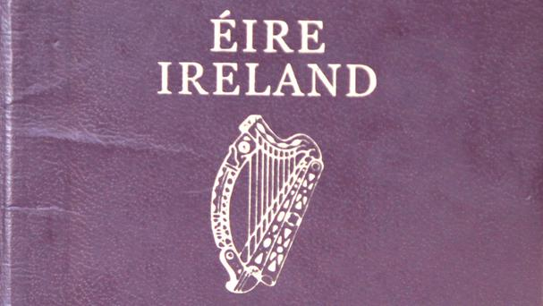 There has been a rush for Irish passport applications