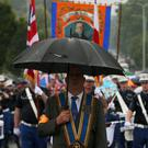 The Orange Order parade marks the victory of protestant King William over Catholic King James II at the Battle of the Boyne more than 300 years ago