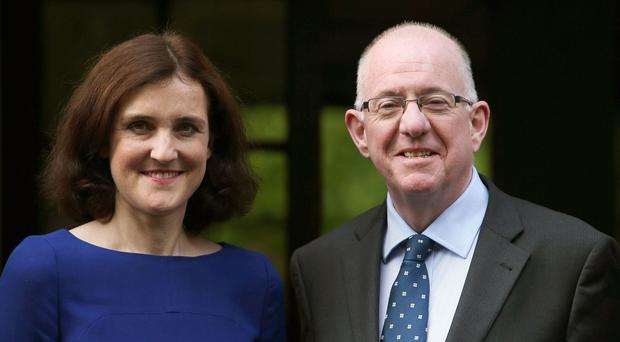 Charlie Flanagan and Theresa Villiers will talk about the impact of the referendum on cross-border relations when they meet in Belfast