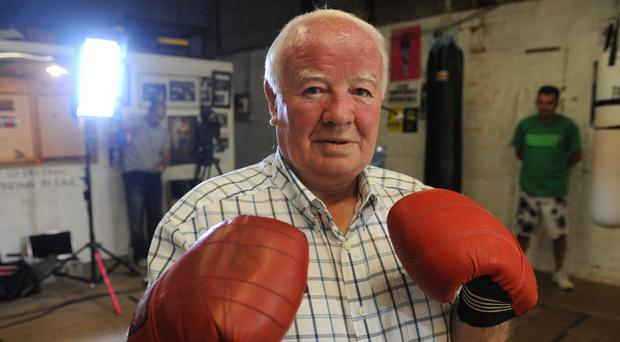 Former boxing champion Freddie Gilroy, who has died aged 80