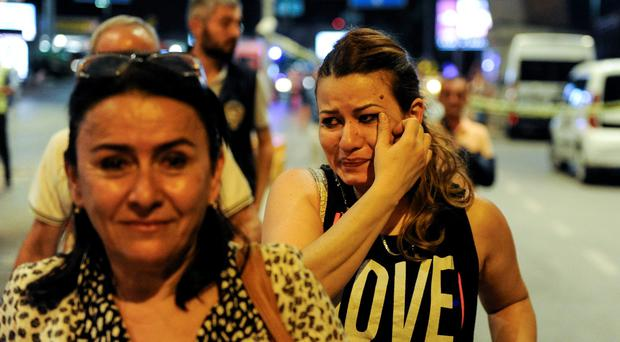 Scenes of chaos and fear at Istanbul's Ataturk airport after last night's terror attack