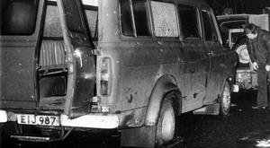 Mrs Lemmon's husband Joseph was among 10 textile factory workers murdered when their minibus was ambushed