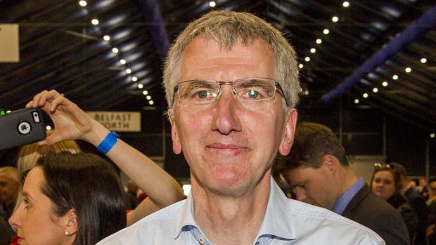 Mairtin O Muilleoir pledged to push ahead with the planned transfer of fiscal powers from London