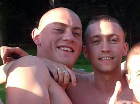 Murdered man Kyle Neil (left) and Wesley Vance (right)