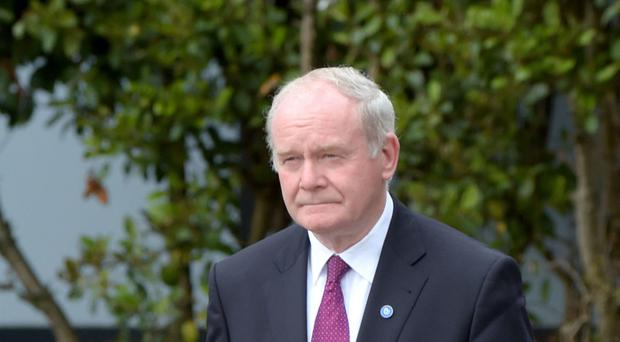 Deputy First Minister Martin McGuinness said the planned visit by business executives had been delayed because of the Brexit vote