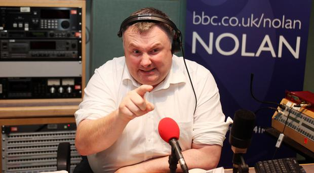 Stephen Nolan said he was 'deeply offended' by the jibe
