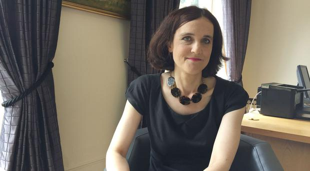 Theresa Villiers at Stormont House, Belfast