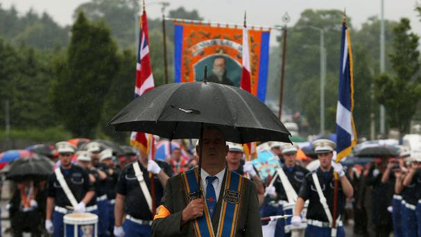 Authorities are cautiously optimistic of a peaceful main fixture, in the Ardoyne, in the loyal order parading season