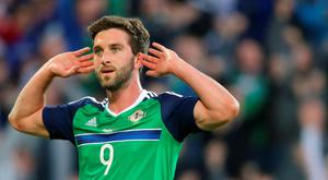 Northern Ireland player Will Grigg