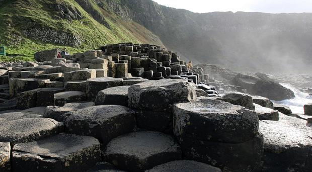Tourism at sites like the Giant's Causeway should benefit from Brexit thanks to the lower value of sterling