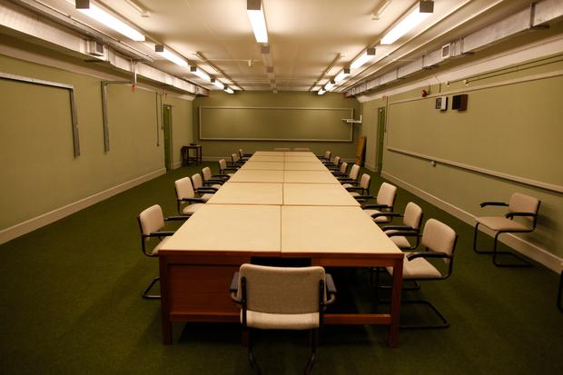 Underground bunker in Ballymena has its own conference room