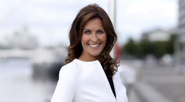 Alison Comyn, newsreader for UTV Ireland
