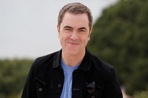 Football-mad: actor James Nesbitt