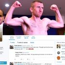 Paddy Barnes's Twitter feed