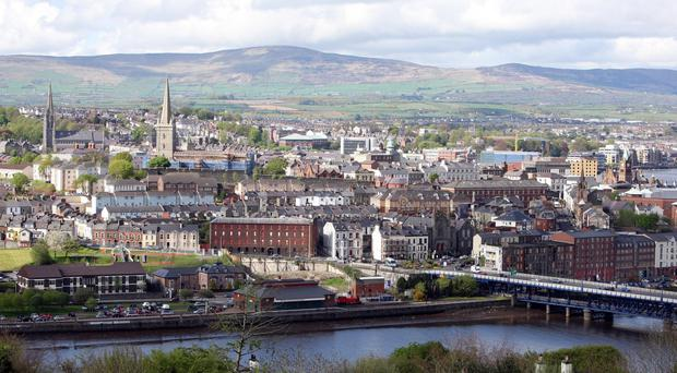 The attack took place in the Glenowen area of Londonderry