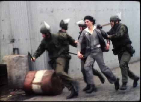 Scenes from documentary Bobby Sands: 66 Days
