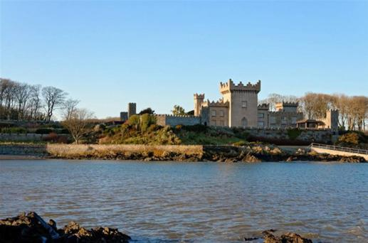 Quintin Castle on the Ards Peninsula