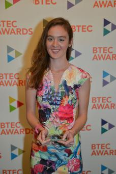 Carrickfergus girl Clare Magowan is now studying at Ulster University