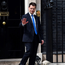James Brokenshire leaves 10 Downing Street where he was appointed as Secretary of State for Northern Ireland on Thursday