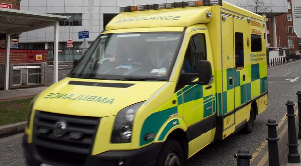 An ambulance worker and police officers were assaulted in Coleraine