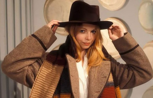 Lalla Ward as Romana in Doctor Who
