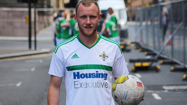 Gerard Bannon contacted his mother for the first time in a year and a half after he represented his country in a football tournament (East Belfast Mission)