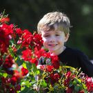 Nathan Boyd from Kinallen enjoying Rose Week