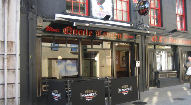 Quoile Tavern's owner Paul Kelly was declared bankrupt
