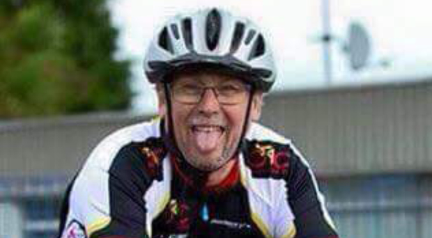 David Catherwood who died following an accident as he cycled on the A2 Belfast to Bangor Road yesterday