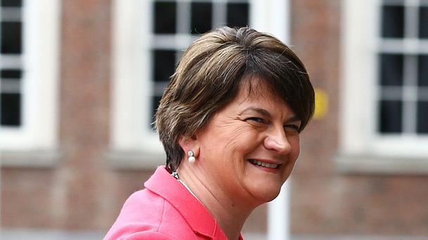 Arlene Foster has boasted of her singing voice.