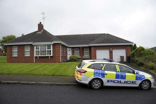 The house at Old Forge in Banbridge, where police are investigating a suspicious death