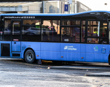 Translink are offering a free shuttle service to Galgorm Manor