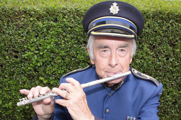 Billy Dallas has been a member of Ballywillan Flute Band since 1946
