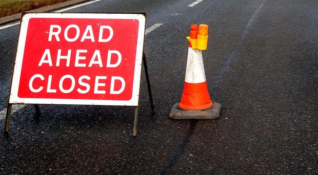 The crash occurred at the junction of Church Road and Moneyrod Road, Randalstown