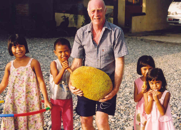 Terry Lockhart in the Philippines, where he set up an orphanage