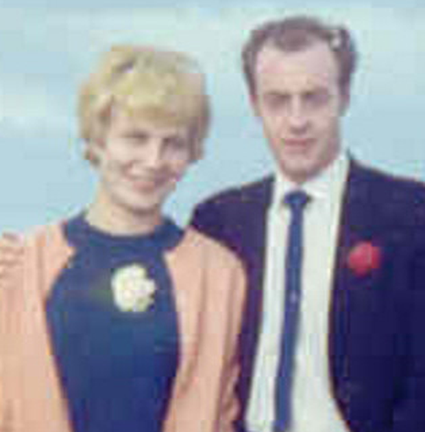 Terry Lockhart with his wife Christine