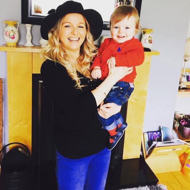Michelle Major, with son Suni, wants wider acceptance of breastfeeding