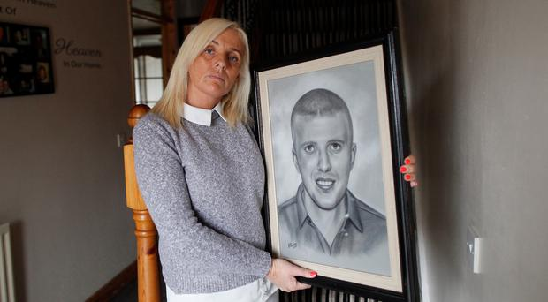 Tracy Carnahan, whose son Sean Paul died in Belfast City Hospital