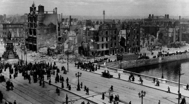 Nationalists and unionists have been commemorating the seminal year of 1916, which witnessed the Easter Rising (pictured) and the Battle of the Somme
