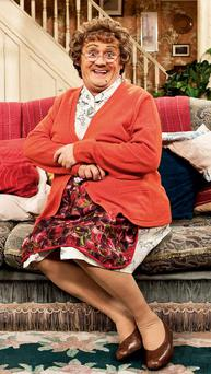 On hold: Mrs Brown film