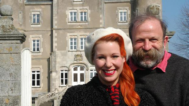Dick Strawbridge and his wife Angel traded up from their apartment in London to a £280,000 French chateau they bought in Pays de la Loire