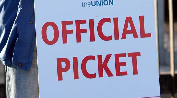 Figures show a record low number of workers taking industrial action