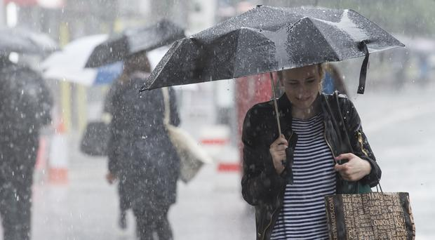 Heavy rain brigns abrupt end to the summer dry spell
