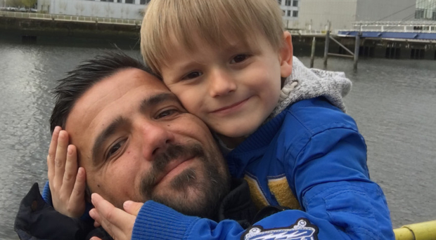 Nacho Novo with Javier